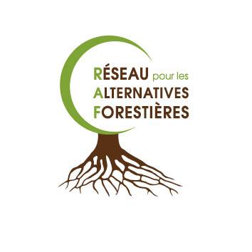 Logo réseau pour les alternatives forestières