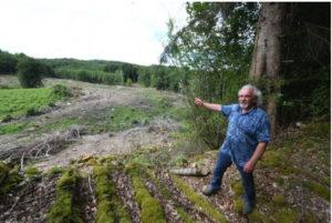 La presse du Limousin dénonce l'impact du Douglas sur l'eau