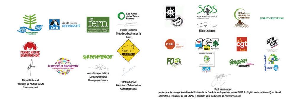 Logos manifeste de Tronçais