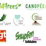 Logos signataires lettre ouverte forêt