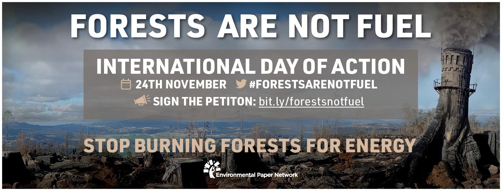 24 Novembre Action mondiale biomasse